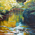 South Fork Silver Creek No. 3 by Melody Cleary