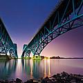 South Grand Island Bridge by Mihai Andritoiu