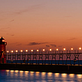 South Haven Reflection by Sebastian Musial