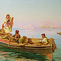 South Italian Fishing Scene by Pietro Barucci