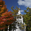 South New Hope Church - Fall by Judy  Johnson