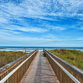 South Padre Island Walkway by Tod and Cynthia Grubbs