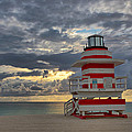 South Pointe Park Lighthouse by Claudia Domenig