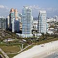 South Pointe Park Miami Beach Florida by Bill Cobb