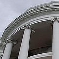 South Portico Of The White House by James DeFazio