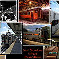 South Shore Line Railroad Collage by Thomas Woolworth