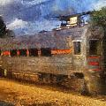 South Shore Train Photo Art 02 by Thomas Woolworth
