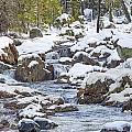 South Yuba River Winter Scene by Jim Thompson
