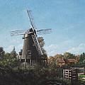 Southampton Bursledon Windmill by Martin Davey