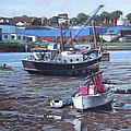 Southampton Northam Boats by Martin Davey