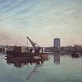Southampton Northam River Itchen by Martin Davey