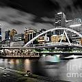 Southbank Footbridge by Az Jackson