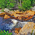 Southeast Brook Above Falls In Gros Morne Np-nl by Ruth Hager
