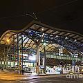 Southern Cross Rail Station In Melbourne Australia by Jacek Malipan