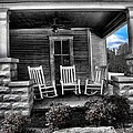 Southern Front Porch 1 by Sherry Bowen