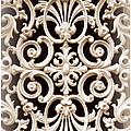 Southern Ironwork In Sepia by Carol Groenen