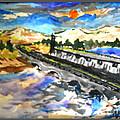 Southern River Dam by Ayyappa Das