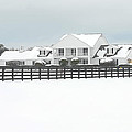 Snow Covered Southfork Ranch   by Dyle   Warren