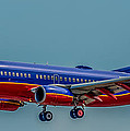 Southwest 737 Landing by Paul Freidlund