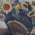 Southwest Sunflowers by Avonelle Kelsey