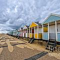 Southwold Beach Huts 4 by Julian Eales