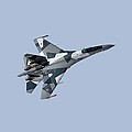 Soviet Aggression Su-27 April 2014 by L Brown