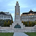 Soviet Red Army Monument Budapest Hungary by Imran Ahmed
