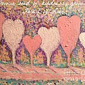 Sow A Seed Of Kindness Greeting Card by Jacqui Hawk