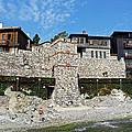 Sozopol Fortress Wall  by Tony Murtagh