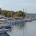 Sozopol Harbour Bulgaria. by Tony Murtagh