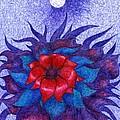 Space Flower by Wojtek Kowalski