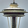 Space Needle Tower Seattle Washington by Tap On Photo