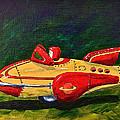 Space Patrol Two by Herschel Fall