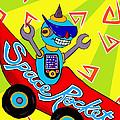 Space Rocket Racer by Lynnda Rakos