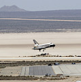 Space Shuttle Atlantis Landing by Science Source