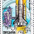 Space Shuttle Columbia Rocket Launch  by Jim Pruitt