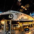 Space Shuttle Discovery by Randy Scherkenbach
