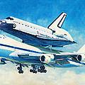 Space Shuttle's Last Flight by Douglas Castleman