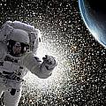 Space Walk No.7 by Marc Ward