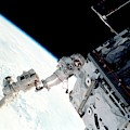 Space Walk On The Iss by Nasa/science Photo Library