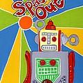 Spaced Out   Toyrobot by Lynnda Rakos