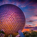 Spaceship Earth Glow by Gareth Burge Photography