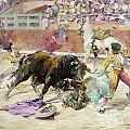 Spain - Bullfight C1900 by Granger