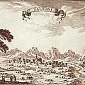 Spain 19th C.. Solsona. Engraving by Everett