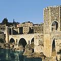 Spain. Catalonia. Gerona. Besal� by Everett