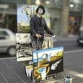 Painter In Spain Series 23 by Carlos Diaz