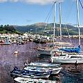Boats In Spain Series 26 by Carlos Diaz