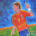 Spain World Soccer Number 1 by Richard W Linford