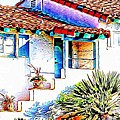 Spanish Bungalow by Audreen Gieger