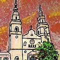 Spanish Church by Sarah Loft